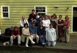 ITF group at lunch, VA