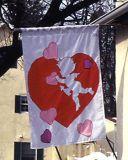 Valentine banner, PA
