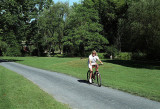 Cycling in the Lehigh Parkway, Allentown, Pennsylvania