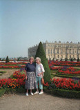 The Palace of Versailles, outside Paris.