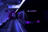 Underground, U1, Vienna, Light effects