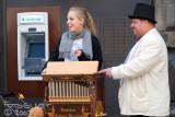 playing the hurdy gurdy man's barrel organ 2