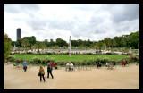 Estanque de los jardines de Luxemburgo