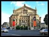 Ópera Garnier (parte posterior)