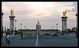 Los Invalidos desde el puente de Alejandro III
