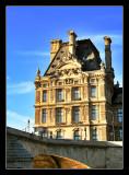 Museo del Louvre desde el Sena