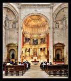 Monasterio de la Vid (altar mayor)