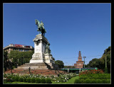 Monumento a Garibaldi en Largo Cairoli
