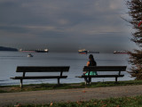 Watching the freighters