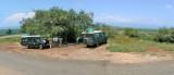 Butiaba escarpment lunch stop