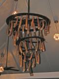 Penis gourd chandelier