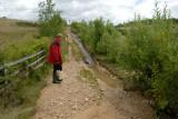 Pithouse West path erosion.jpg