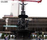 Fountain Square Contruction