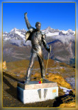 My Beloved Freddie Mercury,- Show Must Go On...Swiss Alps