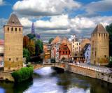 Bridge Towers, Strasburg, France