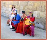 Street Performers On Festival Of Wine Harvest,  St.Emillion