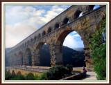 Pont-Du-Gard,- 2500 Year Old Roman Aqueduct