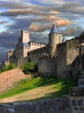Medieval Towers Of Carcassonne, Languedoc-Roussillon