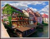 Medieval Strasburg, Alsace
