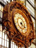 Grand Horloge In Musee D'Orsay