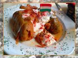 Knockout Cabbage Rolls, Budapest, Hungary