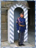 Horny Guard On Babe Watch, Czesky Grad, Prague
