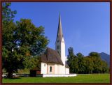 Our Favorite Church In Schliersee, Bavaria