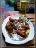 Wild Feasant Steak Sauteed In Leek Sause, Salzburg, Austria