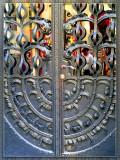 Ornate Door In Budapest, Hungary