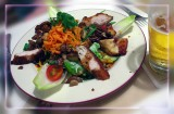 Light Breakfast, Turkey Salad With Sauteed Mushrooms, Munchen, Germany