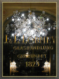 Shopping For Chandeliers In Style, Budapest, Hungary