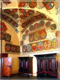 Coats Of Arms In Prague Castle, Czechia