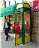 Gals Get Ready To Rob Rolex Shop, Budapest, Hungary
