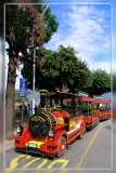 Train on Lake Maggiore, Italy
