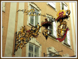 Wrought Iron in Salzburg , Austria
