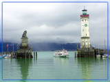 Misty Day in Lindau, Germany