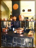 Medieval Kitchen In Chenonceaux, Loire Valley