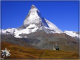 Matterhorn in Summer, Swiss Alps