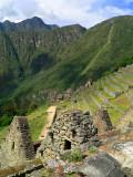 Infamous Inca Trail in Machu Pichu