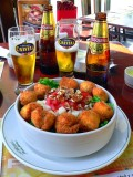 Chicken Salad With Cusquena Beer, Lima