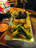 Meat Pie With Tobacco Mushrooms, Lima