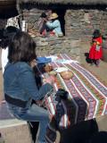 Lunch In Aymara Family, Sillustani