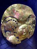 Golden Inca Mask, Larco Museum, Lima