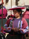 Quechua Lady On Market, Raqchi