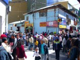 Busy Street On Saturday, Puno