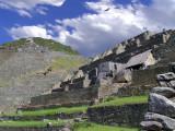 Upper Town Of Machu Picchu