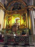 Inside St. Rose's Church, Lima