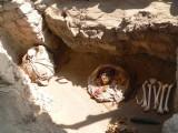 Mummies in Chauchilla Cemetery, Nazca Desert