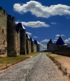 Rampants Of Carcasonne Castle, Roussillion