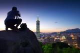 Taipei 101 Sunset